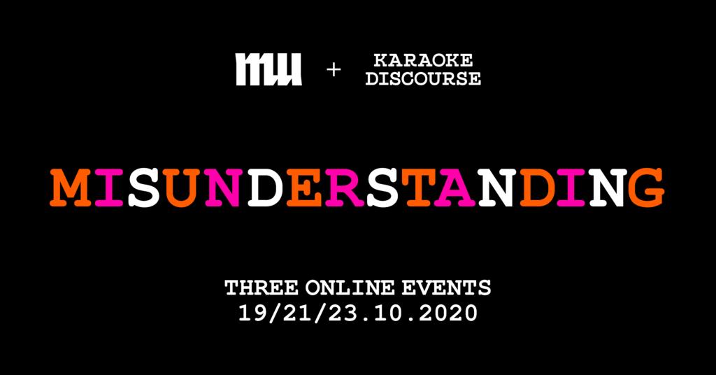Join us for three online evenings full of 'misunderstandings'