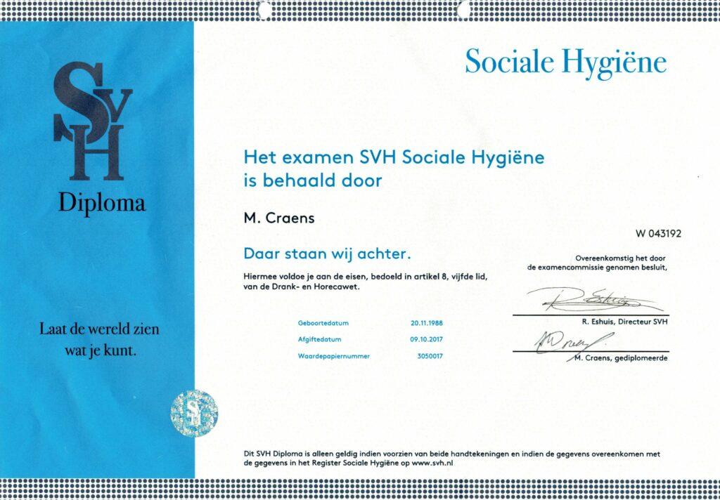 Sociale Hygiëne diploma